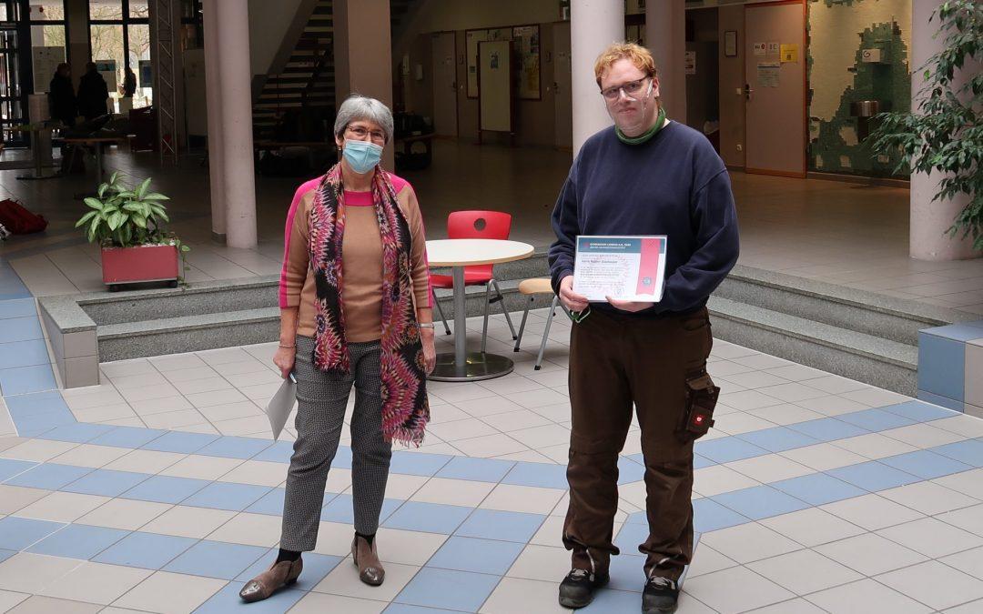 Auszeichnung für Robert Glashauser