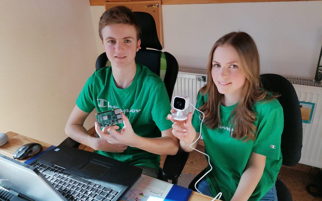 Erfolgreiche Teilnahme am Wettbewerb 'Jugend forscht'