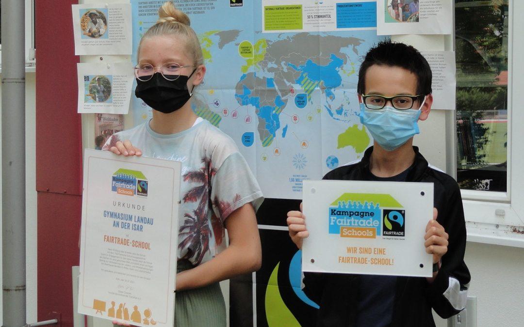 Auszeichnungsfeier Fairtrade School