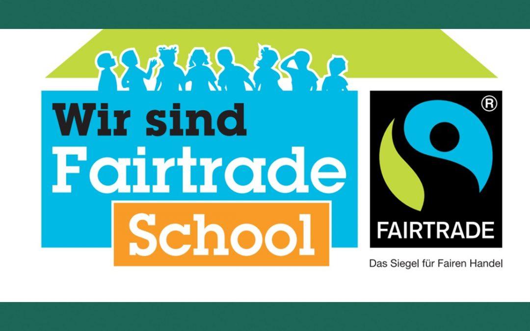Wir sind Fairtrade School!