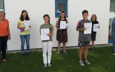 Fünf Zahlenkünstler erfolgreich bei Mathe-Olympiade