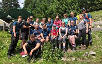 Der Weg ist das Ziel – Gymnasiasten auf Hüttentour in den Alpen